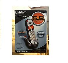 uniden cordless home telephones handsets 5 8 ghz handset frequency rh ebay com