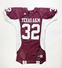 Adidas Texas A&M Football Practice Jersey Men's Large #32 Maroon