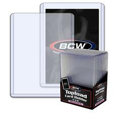 30 BCW 5mm Thick 3 x 4 Toploaders - 197 PT Jersey Memorabilia Holder