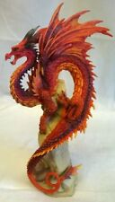 RUBY SENTINEL DRAGON FIGURE - ANDREW BILL DESIGN FOR NEMESIS NOW - ANIMAL MODEL