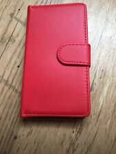 Genuine Real Leather Flip Wallet Cover Stand For N535Mobile Phone Case