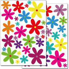 "Wandkings Wandsticker ""Blumen Design 2""  2x A4 Set Aufkleber Deko Wand"