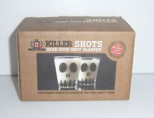 Killer Shots Dead Good Shot Glasses - Set of 2 - New