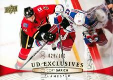 2011-12 Upper Deck UD Exclusives #428 Cory Sarich