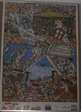 Affiche poster Saint-Louis ville de Sète 263è année Robert Combas 2005 (80x55cm)