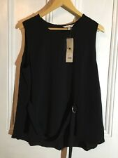 FABULOUS CAPTURE TOP BLACK SIZE 18 NEW