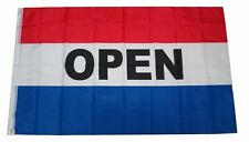 3X5 OPEN Flag 3'x5' Banner Sign Open for Business FAST USA SHIPPING