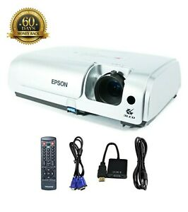 Refurbished Epson EMP-S4 3LCD Projector Portable HDMI-adapter, Accessories