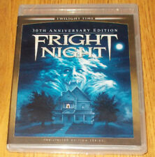FRIGHT NIGHT 30th Anniversary Limited Edition Twilight Time Factory Sealed OOP F