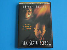 The Sixth Sense ( Dvd, 2001 Collector'S Edition ) Bruce Willis