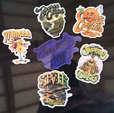 Jungle boys 6 Pack of Vinyl Stickers Cali Slap - Weed 420 710 Marijuana cannabis