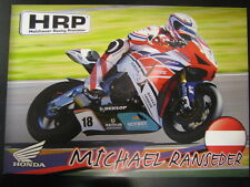 HRP Honda Racing Team IDM SBK 2013 #18 Michael Ranseder (AT)