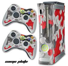 Skin Decal Wrap for Xbox 360 Original Gaming Console & Controller Xbox360 CP R