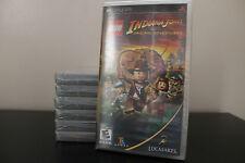 LEGO Indiana Jones: The Original Adventures  (PSP, 2008) *New/Factory Sealed
