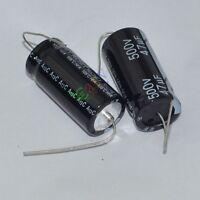 5pc Long 500V 47uf 85C New Axial Electrolytic Capacitors tube amp electronics