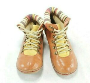 JuaRdi  Africa Womens Tribal Ankle Bootie Boots Shoes Fabric Sude sz 6/6.5