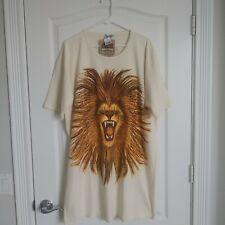 New listing Nwt Rare Vtg 90s Disney Animal Kingdom T- Shirt Tiger Lion Disney World One Size