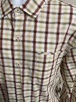 Tommy Bahama Men's Shirt Multicolor Plaid Long Sleeve Size XL