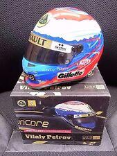 New 1/2 Mini Helmet Lotus Renault GP Vitaly Petrov