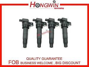 4pcs OEM NO.27301-3C100 Ignition Coil For Hyundai Kia 2.4L 3.3L 3.5L 3.8L 06-15