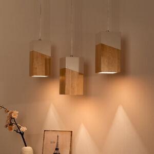 Nordic Wood Pendant Lamp Kitchen Lamp Bedroom Ceiling Light Bar Pendant Light