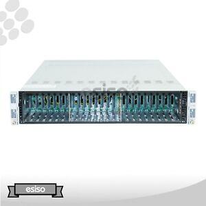 2028TP-HTR SUPERMICRO CSE-217 4x X10DRT-P BAREBONE CHASSIS W/HS PSU RAIL
