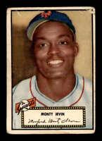 1952 Topps #26 Monte Irvin  G X1501684