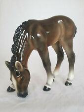 Goldscheider Wien großes seltenes Pferd wie Keramos Austria Figur Horse