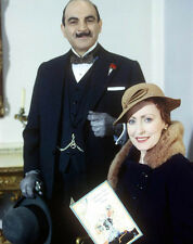 Pauline Moran and David Suchet UNSIGNED photograph - G783  - Poirot - SALE!!!!