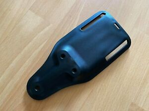 Black Low Ride UBL Safariland Compatible Repro Holster Belt Mount Airsoft