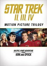 Star Trek II / Star Trek III / Star Trek IV (DVD,2016)