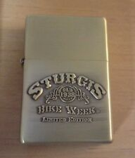 Limited Edition Sturgis Bike Week Refillable Flip Top Lighter
