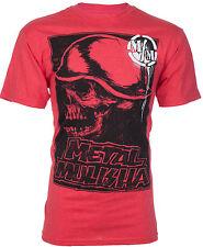 METAL MULISHA Men T-Shirt RISE UP Motocross Racing RED Biker UFC Fox No Fear $30