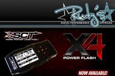SCT X4 POWER FLASH PROGRAMMER 1996-2014 FORD CARS, TRUCKS, SUV'S / GAS & DIESEL