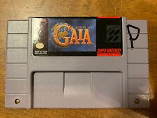 Illusion of Gaia (Super Nintendo Entertainment System, 1994) Authentic Fast Ship