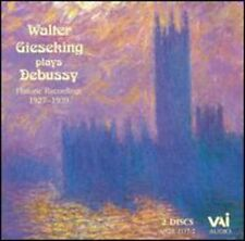 Plays Debussy - Walter Gieseking (1995, CD NIEUW)