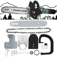 11.5 inch Electric Chainsaw Stand Bracket Set Woodworking Cutting Polishing Tool