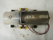 SAAB 900 Classic 1979-1993 Roof / Hood motor USED TESTED U-63X-3166-BXXX CV2
