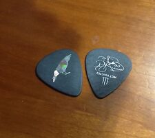 Nikki Sixx AM DJ Ashba Signature Guitar Pick Black Fluorescent Bird