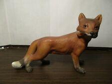 Vintage Ceramic Fox - Red Fox - Woodland Creatures Animal - 6970