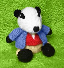 KNITTING PATTERN - Tommy Brock inspired chocolate orange cover / 14cm Badger toy
