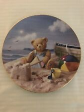 The Hamilton Collection - Friendship Is In The Air - Cherished Teddie Plate