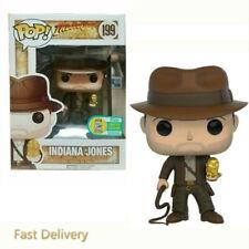 Uk Funko Pop Limited Edition #199 Indiana Jones Action Figures brinquedos Toys