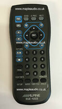 Alpine IXA-W404 IXAW404 Remote Control - Brand New Genuine Part