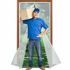 Magnetic Screen Door with Heavy Duty Reinforced Mesh Curtain, Fits Door Size up