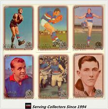1996 Select AFL Inaugural Hall Of Fame PLATINUM Team Set Footscray(6)-RARE