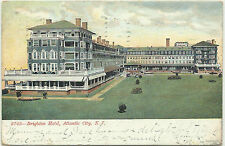 NEW JERSEY - ATLANTIC CITY - BRIGHTON HOTEL - WRAP AROUND PORCHES/VERANDA - 1907