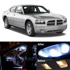 10Pcs Xenon White Interior LED Light Package Kit for 2006-2010 Dodge Charger  MP