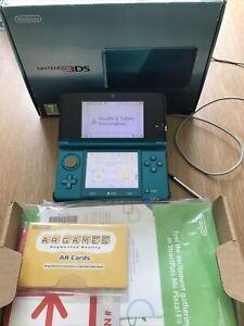 Nintendo 3DS Aqua Blue Handheld System