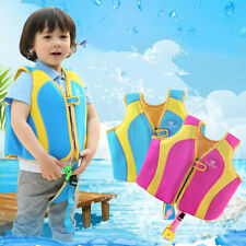 2019 Kids Neoprene Life Vest Jacket Boy Girl Children Swimming Boating 10-30KG